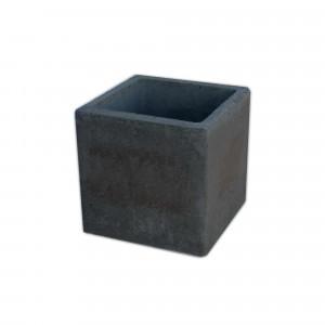 Ampliación FIRST gris para chimenea de barbacoa 30x30x30 cm