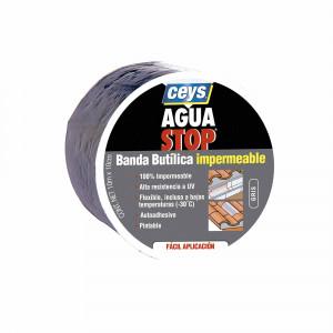 Ud. Ceys Aguastop banda imp. Butilo gris 10cmx10m