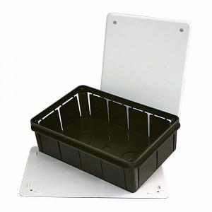 Ud. caja de empalmes c/tornillos 200x130x60