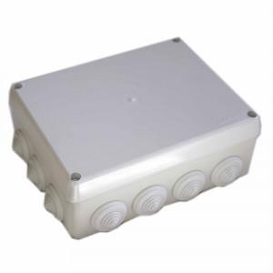 Ud. caja estanca con conos c/tornillos 220x170x75