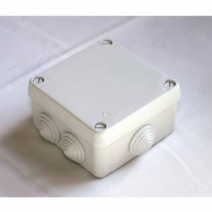 Ud. caja estanca con conos c/tornillos 102x102x55