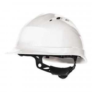 Pz.Deltaplus casco quartz up IV blanco -ajustable