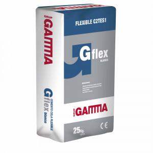 Saco Gamma cemento cola gflex c2tes1 blanco