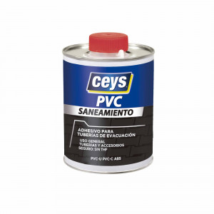 Cartucho Ceys pvc saneamiento tapon pincel 250ml