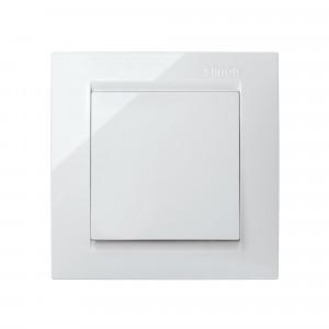 Interruptor conmutador blanco Simon 15