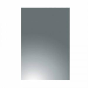 Espejo de baño Baho GO gris 90x70 cm con trasera de madera