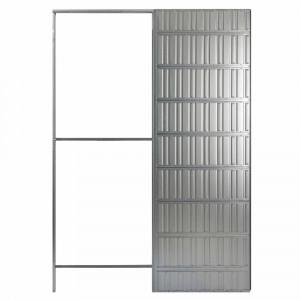 Estruct.correderas new space 800x2100-100 pared placa yeso