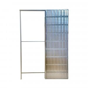 Estruct.correderas new space 900 x 2020 x 105