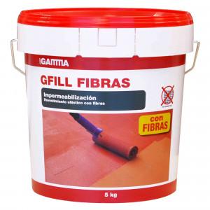 Cubo Gamma gfill fibra rojo teja 5kg