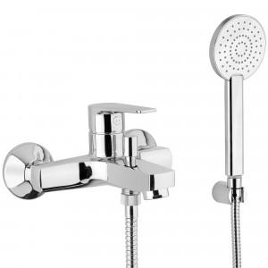 Grifo bañera y ducha O2 cromado