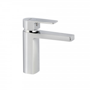 Grifo PLANO de lavabo XL cromo