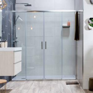 Mampara PALIO de ducha transparente 157-160 cm