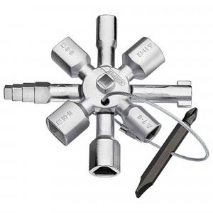 Pz.llave universal knipex 00 11 01 p/armario reg.twinkey