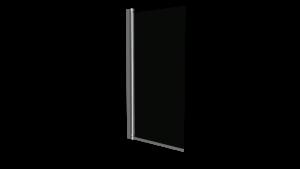Mampara VIVA de bañera cromo transparente 85x150 cm