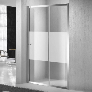 Mampara SENSAI III de ducha transparente frontal 145-150 cm