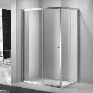 Mampara SENSAI III de ducha transparente 80x100 cm