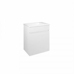 Mueble de baño suspendido Baho BAND blanco 40 cm con lavabo