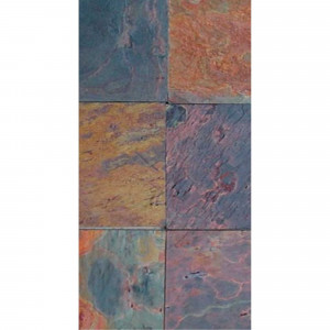 M2 piedra nat.india 30x60 multicolor