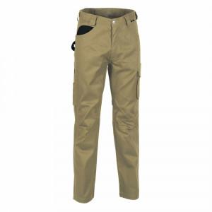 Pantalon Cofra mod. drill talla 44 beige/negro