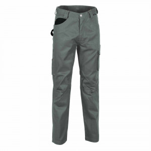 Pantalon Cofra mod. drill talla 42 gris/negro