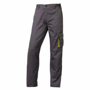 Pz.Deltaplus pantalon m6pan gris/verde t.m (38/40)