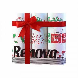 Papel higienico pack 9un. navidad