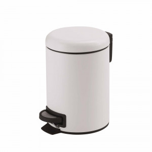 Pz.Gedy papelera redonda 5l g-potty blanco