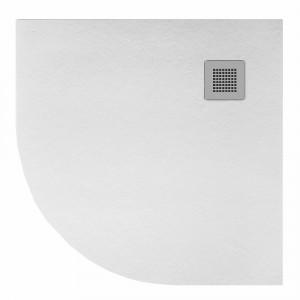 Plato HIDRA II de ducha blanco semicircular 80x80 cm