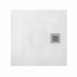 Plato HIDRA II de ducha blanco semicircular 70x70 cm