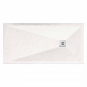 Plato MARMA de ducha blanco 80x180 cm