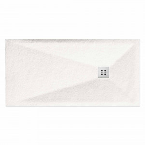 Plato MARMA de ducha blanco 90x100 cm