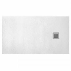 Plato de ducha Baho HIDRA II antideslizante blanco 70x100 cm
