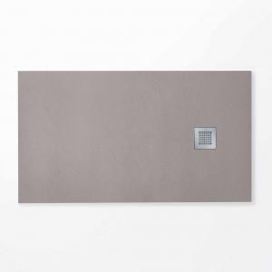Plato HIDRA II de ducha gris plata 70x120 cm