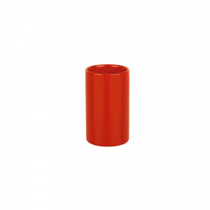 Vaso TUBE rojo