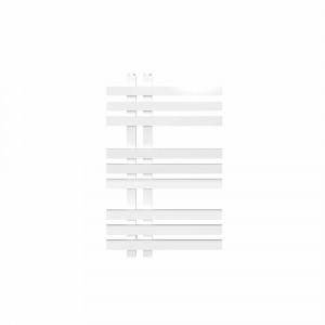 Radiador toallero eléctrico Baho MISTRAL de diseño blanco 80x50 cm