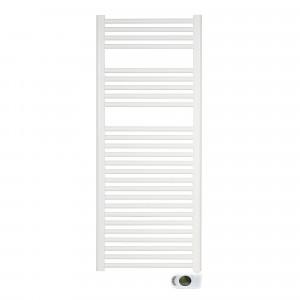 Radiador-toallero SOLANO blanco eléctrico 120x50 cm