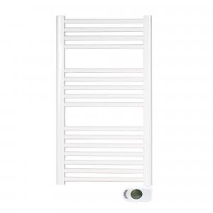 Radiador-toallero SOLANO blanco eléctrico 80x50 cm