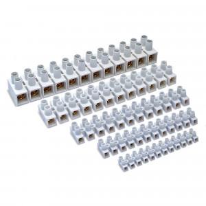 Pz.regleta conexion Famatel 235 35mm 125a blanco