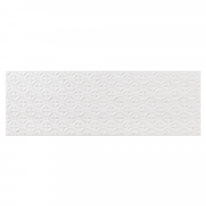 Revestimiento pasta blanca Terradecor JASMINE relieve 30x90 cm