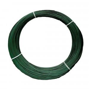 Rollo alambre Rivisa 20/17 pv 2m verde ral6005 5kg