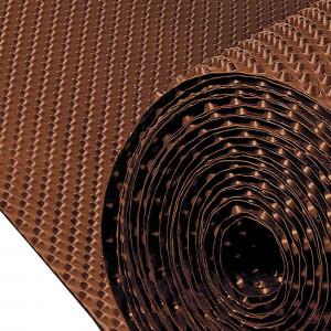 Rollos lamina drenante 30x2.1 danodren h10 marron