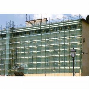 Rollo malla Ponsa protección fachada 6x10 m