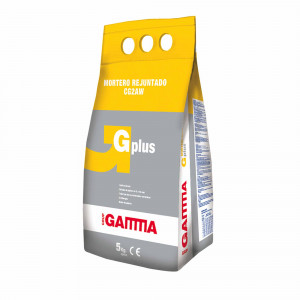 Saco Gamma GPLUS de mortero para juntas blanco 5 kg