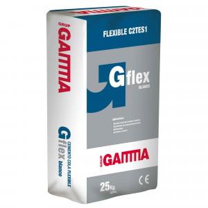Saco Gamma cemento cola gflex c2t1 s1 blanco