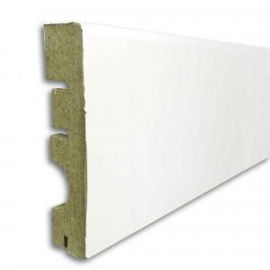 Pz.suelo laminado rodapie 90 blanco 2.40 ml
