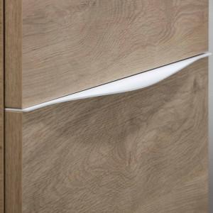 Tirador LUCCA de mueble blanco 120 cm