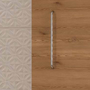 Tirador LUCID de mueble cromo 22,4 cm