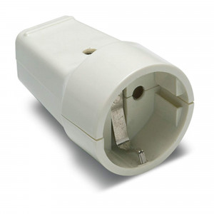 Pz.base Famatel 2101 movil tt 16a-250v blanco