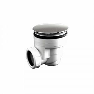 Válvula para plato de ducha Baho blanca 60 mm