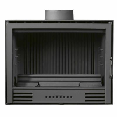 Chimenea insertable FUNDI 700 de Hualge con doble combustión 69,5x52x44,5 cm